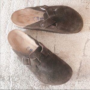 Birkenstock Boston Soft Footbed slides shoes